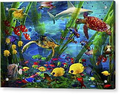I'd Like To Be Under The Sea...... Acrylic Print