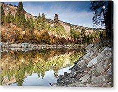 Idaho River  Acrylic Print