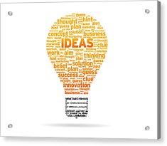 Ideas Acrylic Print