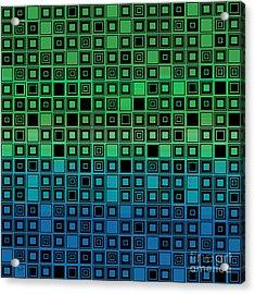 Identical Cells Acrylic Print by Bedros Awak