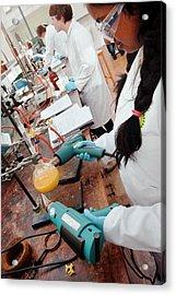 Identifying The Chemicals In Orange Peel Acrylic Print