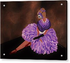 Identity Unknown Acrylic Print by Barbara St Jean