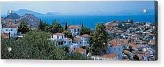 Idra Island Greece Acrylic Print by Panoramic Images