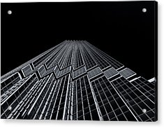 Ids Tower Minneapolis  Mono Acrylic Print