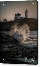 If Barnabus Collins Lived At The Nubble Acrylic Print by Scott Thorp