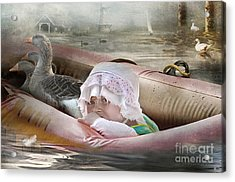 If I Could Save Em All Acrylic Print by Adelita Rog