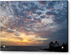 If Only Every Day Ended Like This Acrylic Print