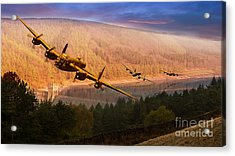 If Only Acrylic Print by Nigel Hatton