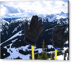 If The Glove Fits Acrylic Print by Kym Backland