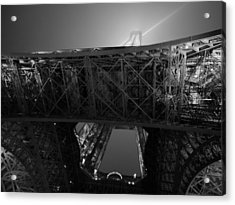 If The Tower Had Legs Acrylic Print by Humberto Laviera