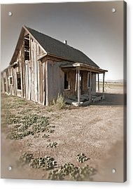 If This Homestead Could Speak Acrylic Print