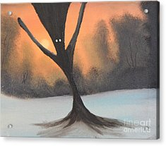 If You Go Into The Woods Today Acrylic Print by John Kemp