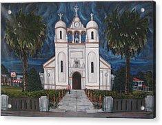 Iglesia Curridabat  Costa Rica Acrylic Print