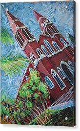 Iglesia Grecia  Costa Rica Acrylic Print