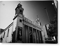 iglesia san agustin Santiago Chile Acrylic Print by Joe Fox