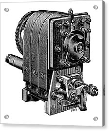 Ignition Magneto Acrylic Print