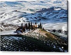 Il Belvedere Acrylic Print by Massimo Della Latta