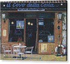 Il Covo Della Costa Acrylic Print by Guido Borelli