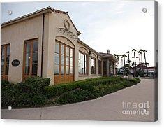 Il Fornaio Italian Restaurant In Coronado California 5d24362 Acrylic Print by Wingsdomain Art and Photography