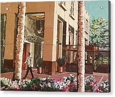 Il Fornaio Acrylic Print by Paul Guyer