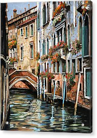 Il Ponte E I Pali Acrylic Print