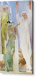 Il Precursore By Giulio Aristide Sartorio Acrylic Print
