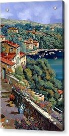 Il Promontorio Acrylic Print by Guido Borelli