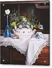 Il Te' Del Pomeriggio Acrylic Print by Danka Weitzen