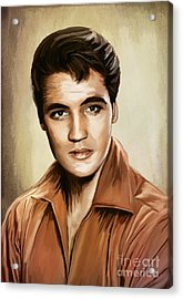 I'll Remember You......elvis Acrylic Print