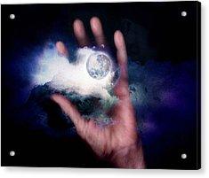 I'll Take Down The Moon For You Acrylic Print by Gun Legler