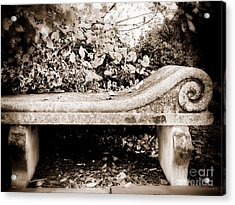 I'll Wait For You Acrylic Print by Colleen Kammerer