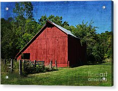 Illinois Red Barn 2 Acrylic Print