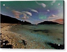 Illuminated Beach Acrylic Print