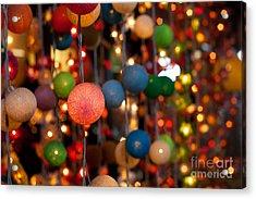 Illuminated Decoration  Acrylic Print by Fototrav Print