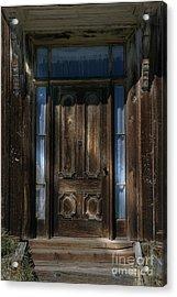 Illuminating The Past - Bodie Acrylic Print by Sandra Bronstein