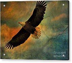 Illumination Of Spirit Acrylic Print by Deborah Benoit