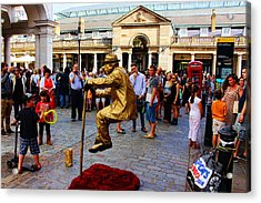 Illusion Covent Garden Acrylic Print by Nicky Jameson