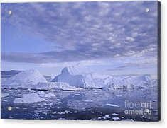 Acrylic Print featuring the photograph Ilulissat Icefjord Greenland by Rudi Prott