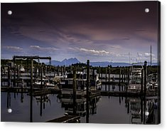 Ilwaco Acrylic Print by Jean-Jacques Thebault