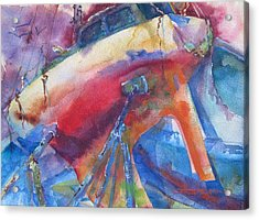 Ilwaco Parti-color Acrylic Print