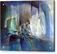 Im Blauen Raum Acrylic Print