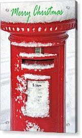 I'm Dreaming Of A White Christmas Acrylic Print
