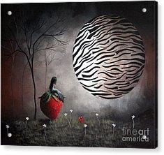 I'm Your Huckleberry By Shawna Erback Acrylic Print by Shawna Erback