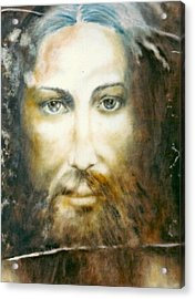 Image Of Christ Acrylic Print by Henryk Gorecki