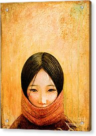 Image Of Tibet Acrylic Print