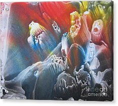 Acrylic Print featuring the painting Imagination 1 by Vesna Martinjak