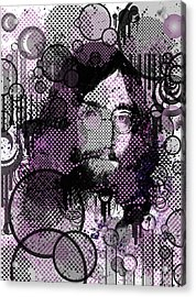 Imagine 4 Acrylic Print by Bekim Art