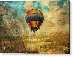 Imagine Acrylic Print by Betsy Knapp