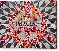 Imagine Acrylic Print by Gary Slawsky