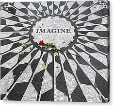 Imagine Mosaic Acrylic Print by Mike McGlothlen